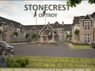 Stonecrest of Troy | Senior Living Homes