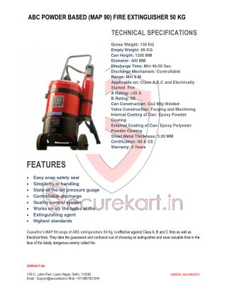 CEASEFIRE  FIRE EXTINGUISHER 50 KG Features & Specifications