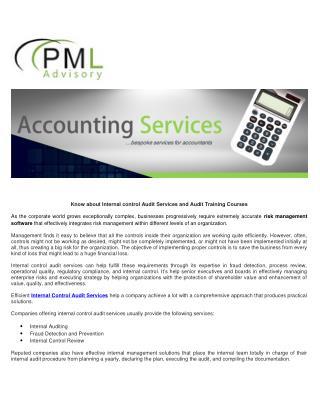PML Advisory