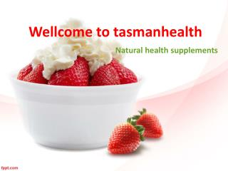 tasmanhealth.co.nz | Strawberry Powder