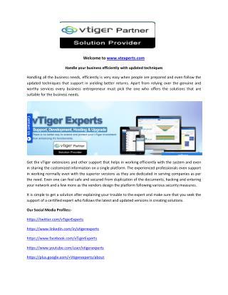 Vtiger Sms Gateway Configuration