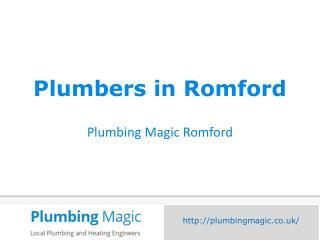 Plumbers in Romford