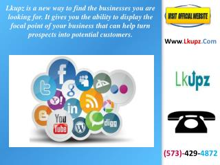 Marketing Ideas For Small Business | Call (573)-429-4872