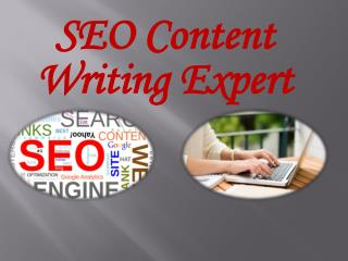 SEO Content Writing Expert