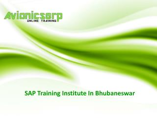 SAP training in bhubaneswar