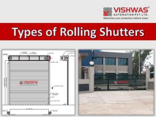 Rolling Shutter Types