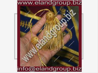 Doctoral Tam Gown Bullion Tassels