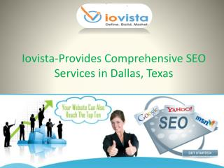 Iovista-Provides Comprehensive SEO Services in Dallas, Texas