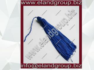 Blue Graduation Cap Tassel