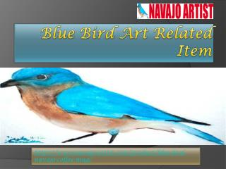 Blue Bird Art Related Item