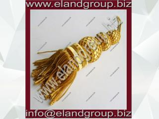 French Bullion Wire Gold Tassel