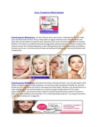 http://www.healthbuzzer.com/coal-cosmetic-moisturizer/