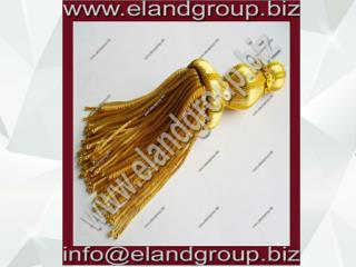 French Gold Bullion Wire Decoration Tassel