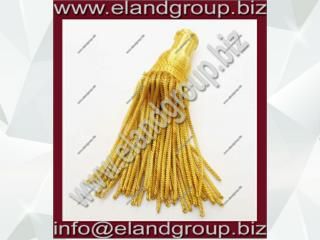 French Gold Bullion wire Tassel