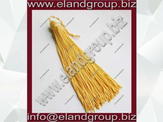 Gold Matte Graduation Cap Tassel