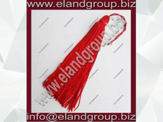 Red Graduation Cap Tassel