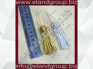 Royal pellow bullion tassels