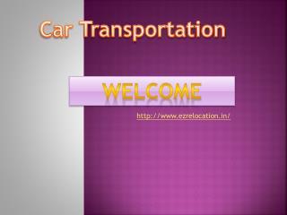 Car Transportation in noida