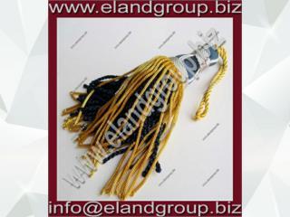 Silk & Bullion Wire Tassel