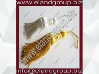 Silver & Gold Bullion Tassels