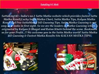 Challenge your Friend for a Game of Satta Matka