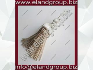 Silver Bullion Decoration Tassel