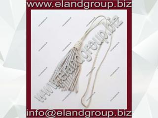 Silver Bullion Wire Tassel