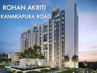 Opulent Apartments at Kanakapura Road by Rohan Akriti - Call: ( 91) 9953 5928 48