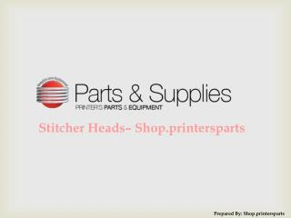 Buy Muller Martini Stitcher Heads at Shop.PrintersParts.com