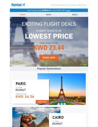 Exciting Flight Deals