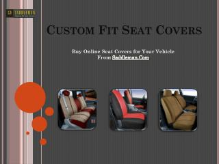 Custom Seat Cover for Trucks