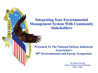 Integrating Your Environmental Management System With Community Stakeholders