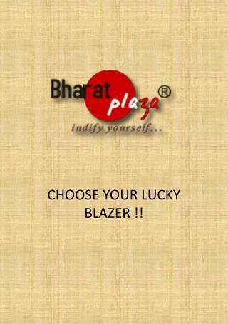 Mens Blazers Online From Bharatplaza