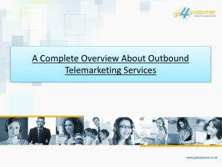 A Complete Overview About Outbound Telemarketing Services