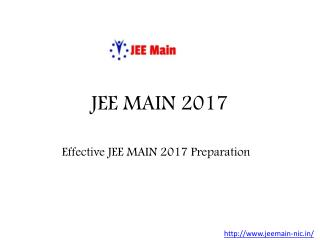 Latest Notification For JEE EXAM