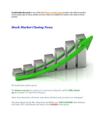 Full Target Achieved Premium Trading Calls With Stock Market Closing News - 28th September