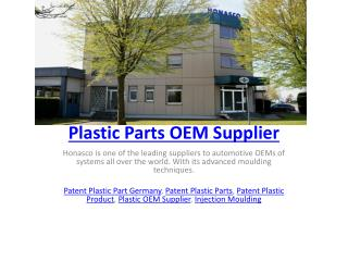 Plastic Parts OEM Supplier