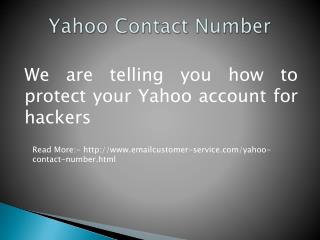 Yahoo Contact Number For Clints