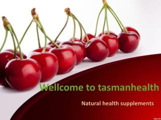tasmanhealth.co.nz | Tart Cherry Powder - Organic