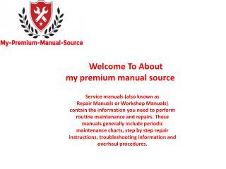 bobcat service manual