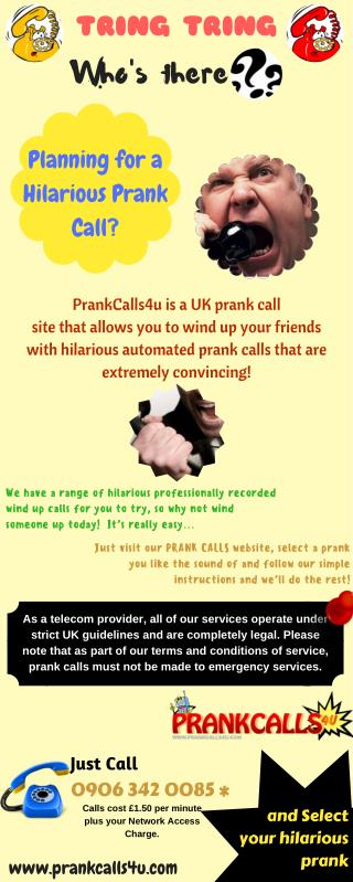 Have You Ever Made Funny Prank Phone Calls?