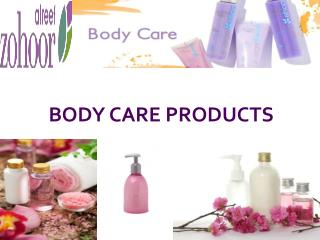 Body Care Products for both Men and Women