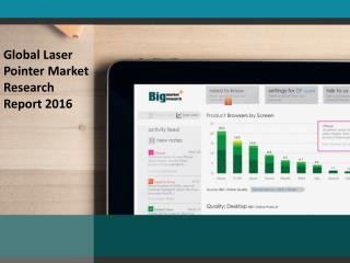 Laser Pointer Market Aims Bigger with Technological Innovations