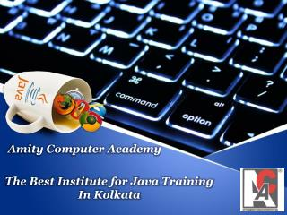 The Best Institute for Java Training In Kolkata