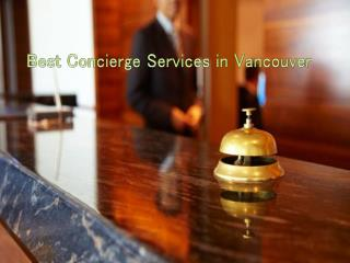 Best Concierge Services in Vancouver