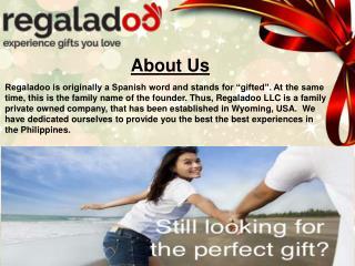 Anniversary Gifts - Regaladoo LLC