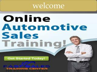 Fast Sales Training Center