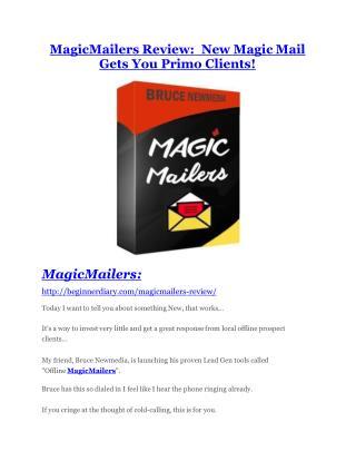 MagicMailers review- MagicMailers (MEGA) $21,400 bonus