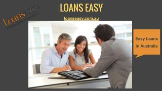 Loans Easy - Get Your Easy Loans in Australia