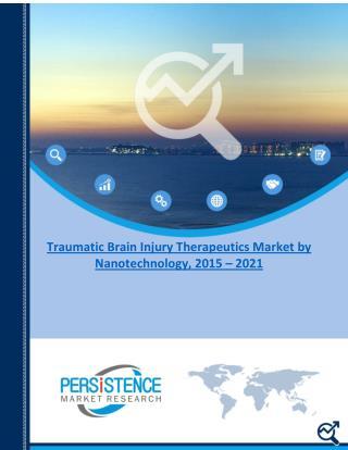 Traumatic Brain Injury Therapeutics Market by Nanotechnology, 2015 – 2021